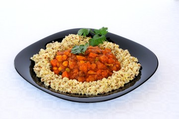 Vegetable Moroccan stew with Quinoa © Arena Photo UK