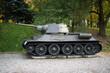 T-34 tank II world war