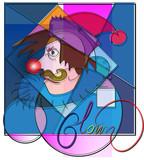 Fototapety клоун