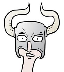 Hard helmet viking
