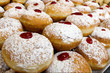 Chanukah Jewish Holiday Food - Sufganiot Donuts