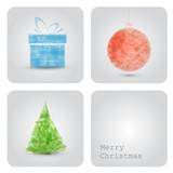 Fototapety Vector christmas decoration card