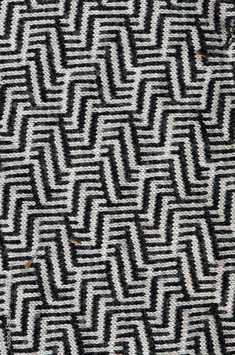 Interesting texture pattern of garment dress cloth
