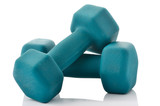 Two hand weights for exercise