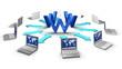 Social network concept, E-commerce concept, network concept