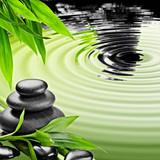 Fototapete Symbol - Steine - Beim Entspannen