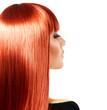Healthy Long Red Hair