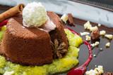 Fototapeta śniadanie - czekolada - Deser