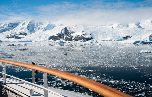 Plexiglas Antarctica Paradise bay in Antarctica