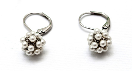 .Pearl Earrings