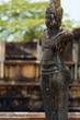 Outdoor Weathered Buddha Statue Polonnaruwa Ruins