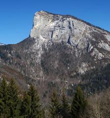 montagne de la roche veyrand - chartreuse