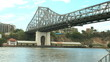 Timelapse of the Story Bridge in Brisbane Australia.