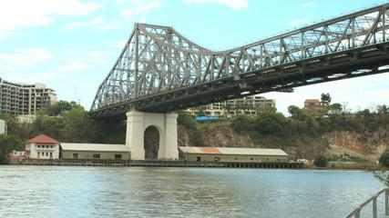 Timelapse of the Story Bridge in Brisbane Australia.