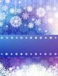 Christmas blue with christmas snowflake. EPS 8