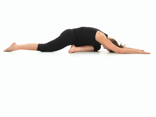 advanced yoga practice variation