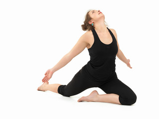 advanced yoga practice posture
