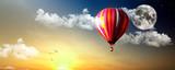 Fototapeta przylot - lotnictwo - Balon / Sterowiec