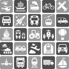 Transports icons