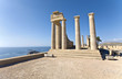 Temple of Apollo at Lindos, Rhodes island, Greece