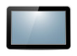 No Name Black Tablet PC With blue Display & Shine, Organizer