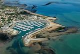 Port de plaisance de Saint-Denis-d'Oléron  vue du ciel - 46189279