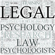 Legal psychology Discipline Study Concept