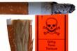 Giftige Zigarette seziert