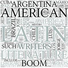 Latin American literature Discipline Study Concept