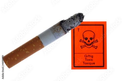 Giftige Zigarette