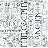 Ancient philosophy Discipline Study Concept poster