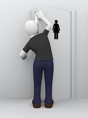 peeping girls toilet