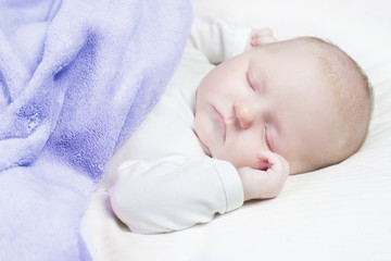 Beautiful baby sleeping