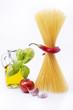 pasta spaghetti con peperoncino piccante