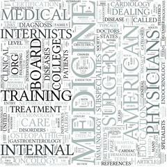 Internal medicine Discipline Study Concept