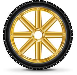 Golden vector wheel