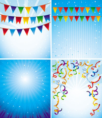 Vector holiday backgrounds
