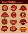 Retro Vintage Badges - Combined
