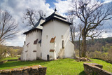 An old Orthodox church, Bieszczady Mountains, South Eastern Pola poster