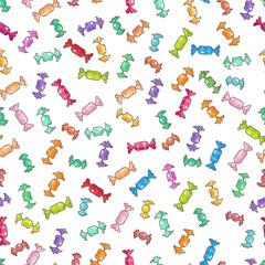 Bonbon seamless pattern