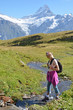 Trekking in the Jungfrau region, Switzerland