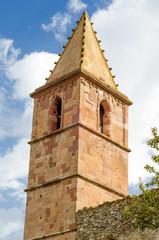 Sardegna, Orani, torre aragonese della chiesa di S. Andrea