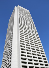 Tall Concrete Building