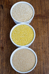 Quinoa, Millet And Amaranth