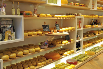 Cheese store in Europe