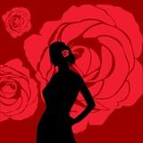 Fototapeta róże - kwiat - Kobieta