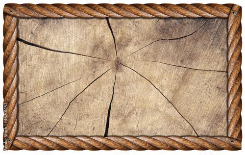 Grunge Wooden Frame