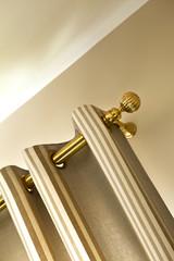 Rideau, décoration, tissu, passementerie, intérieur