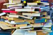 Buchstapel mit Büchern