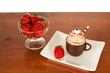 Chocolate Mousse and Strawberries